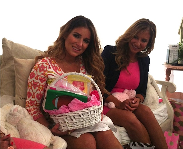 Baby shower for Jessie James Decker featuring The Wipebox